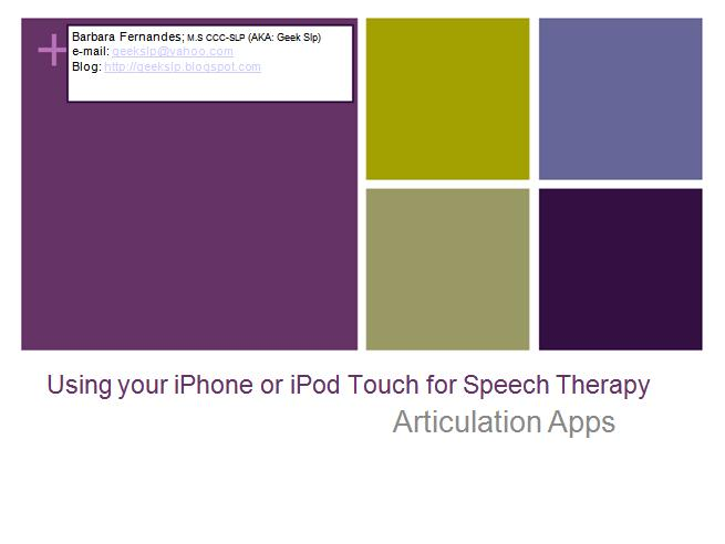 Special Education Apps