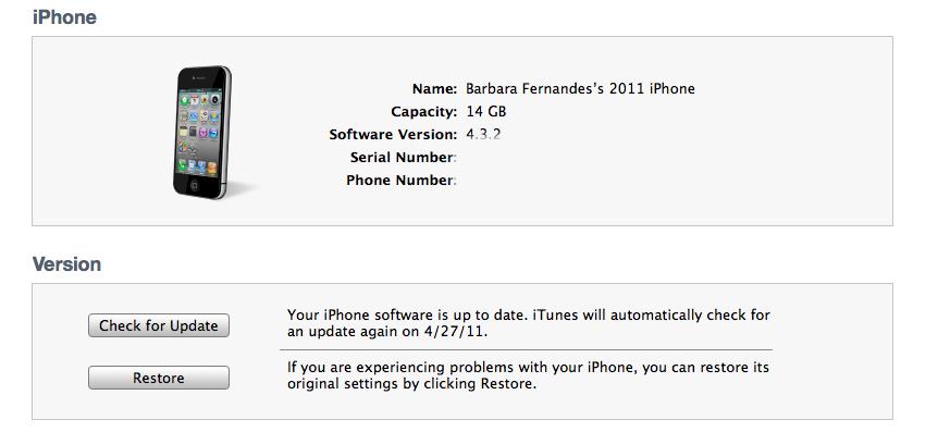 updating iOS