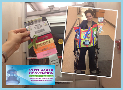 From the Asha convention to the ER in San Diego