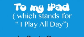 to my iPad