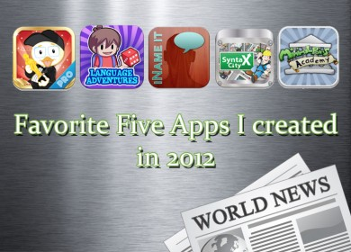fiveafvorite apps of 2012