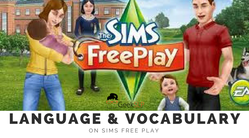 Language Vocabulary On Sims Freeplay For Ipad Geekslp