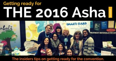 Getting ready for the 2016 Asha convention