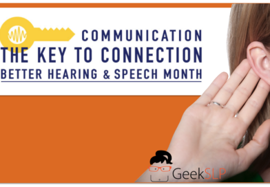 Ideas for promoting better hearing and speech month