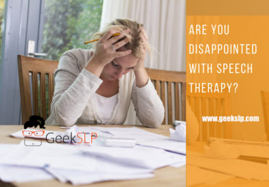 Are you disappointed with Speech Therapy?